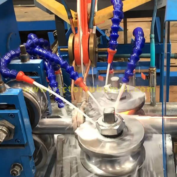 New Victor Main Products - Steel Pipe / Tube Mill Machine Since 1992